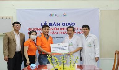 FPT Telecom tặng 3 bệnh viện tại Đà Nẵng 1 tỷ đồng sử dụng miễn phí Internet
