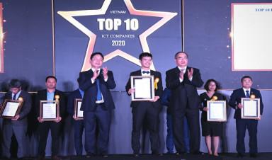 FPT và các ĐVTV được vinh danh Top 10 Doanh nghiệp CNTT Việt Nam