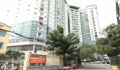 Lắp đặt cáp quang FPT tại chung cư 8X Đầm Sen, Phường Hiệp Tân, Quận Tân Phú,TP.HCM.