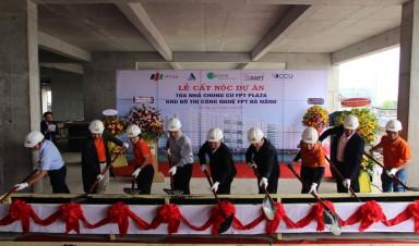 Lễ cất nóc toà nhà chung cư FPT Plaza Đà Nẵng